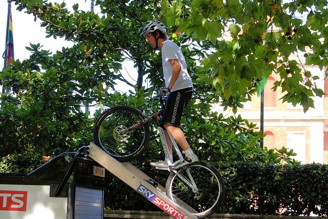 Free mountain bike sport biking recreation cyclist