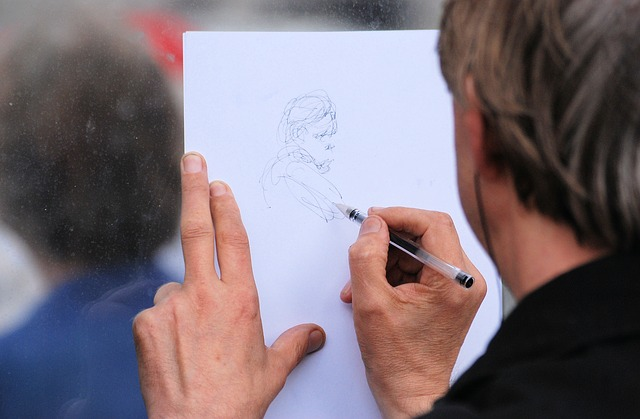 Free artist drawing artistic creativity paper sketch