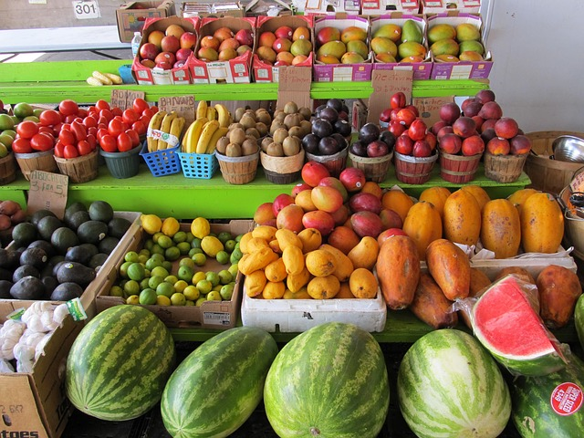 Free farmers market produce fresh food fruit vegetables