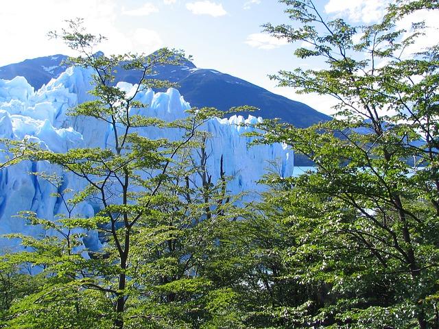 Free glacier nature argentina landscape perito moreno