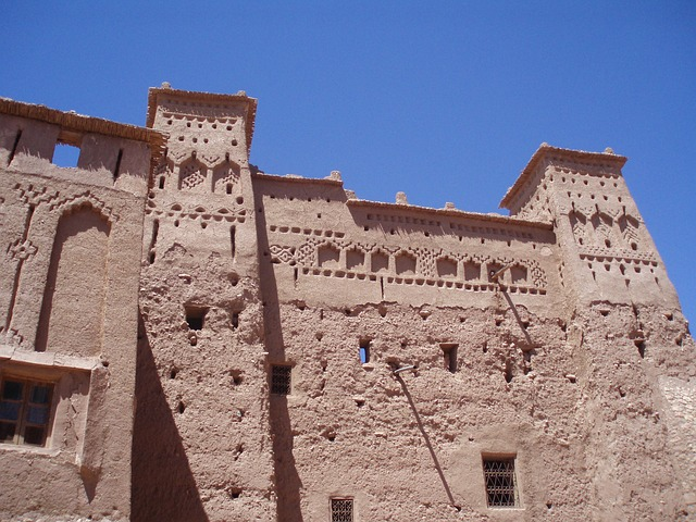 Free building morocco temple