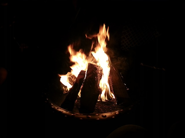 Free fire backyard heat outdoors fire-pit burn burning