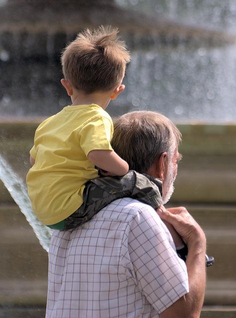 Free boy father person man child grandson grandfather