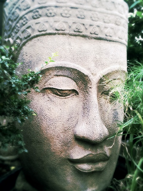 Free buddha zen relaxation calm serenity statue face