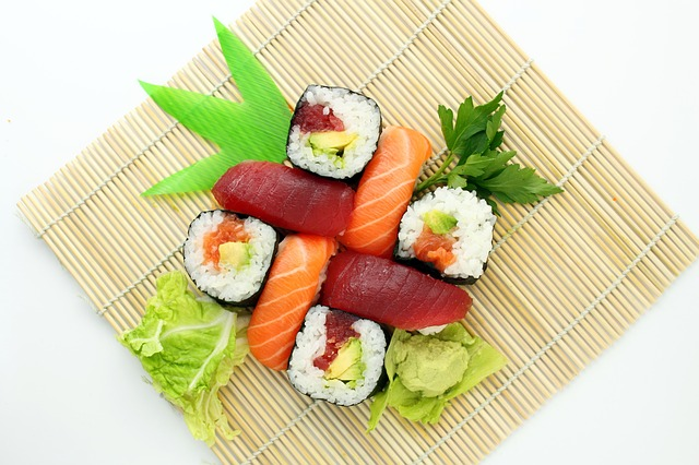 Free sushi japanese delicious asian food yummy