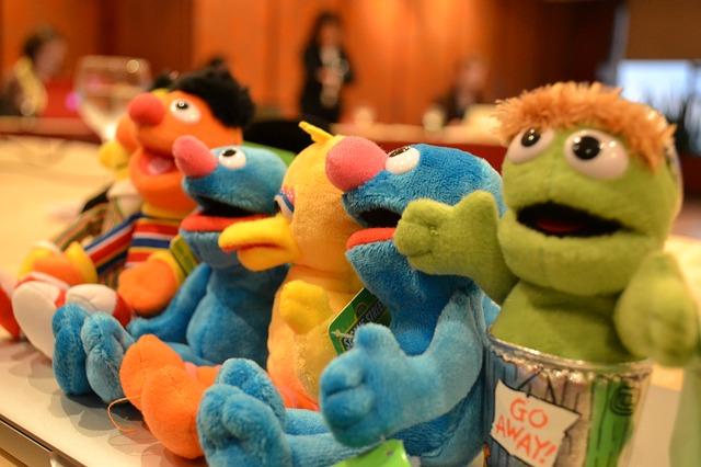 Free dolls plush toys muppets sessame street