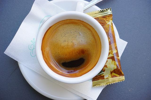 Free cappuccino coffee cup italian coffee drink