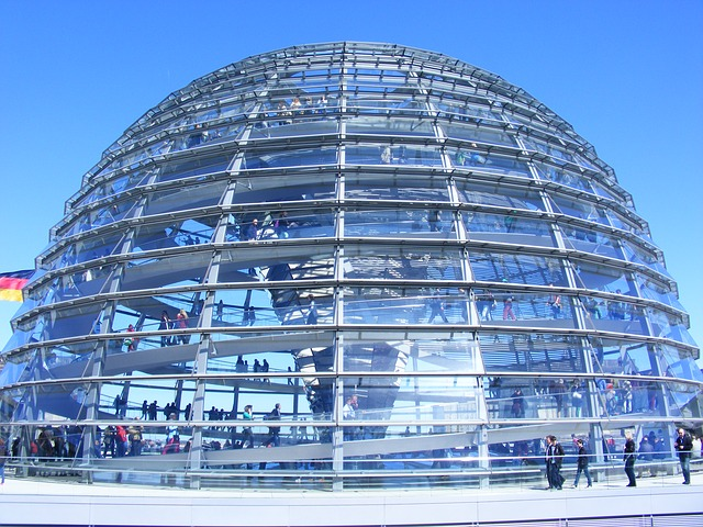 Free reichstag berlin dome capital government district
