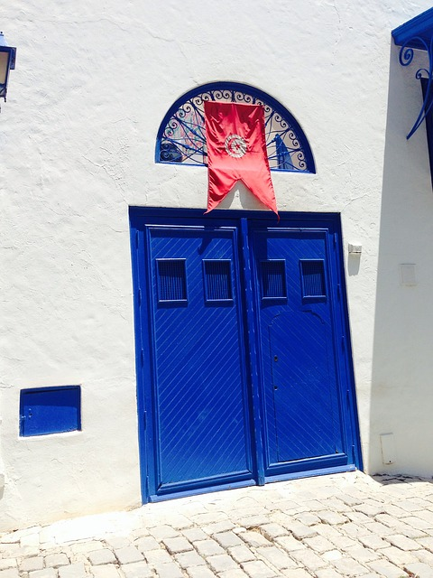 Free Photos: Door goal tunisia flag input house entrance | Ira008