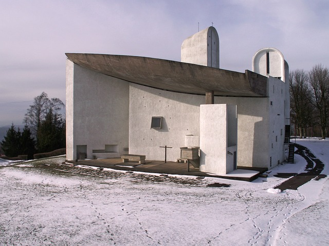 Free notre-dame you skin de ronchamp ronchamp chapel snow