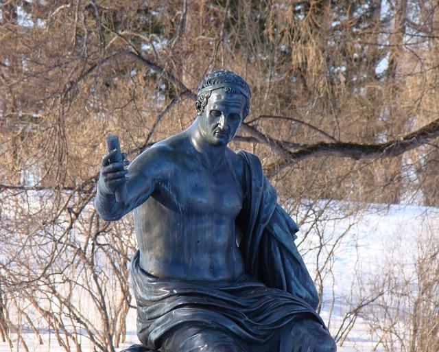 Free the palace ensemble tsarskoe selo russia statue