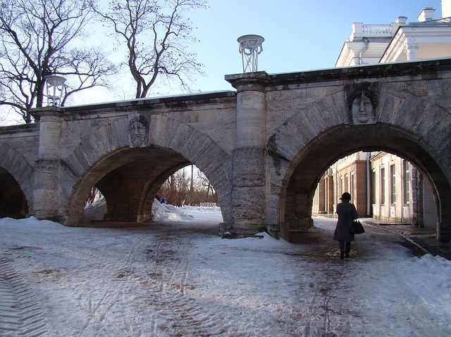 Free the palace ensemble tsarskoe selo russia wall arch