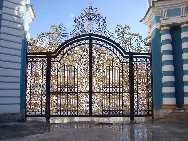 Free the palace ensemble tsarskoe selo russia gate