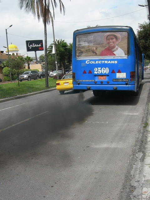 Free exhaust fumes pollution environment quito ecuador