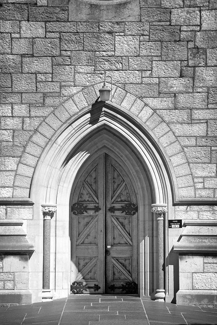 Free door cathedral architecture church building old