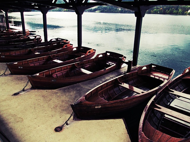 Free boats lake boat peaceful wood bay grunge