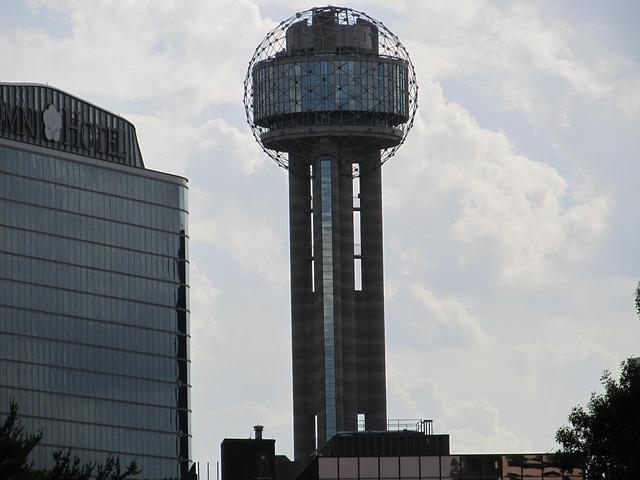 Free reunion tower dallas texas architecture cityscape