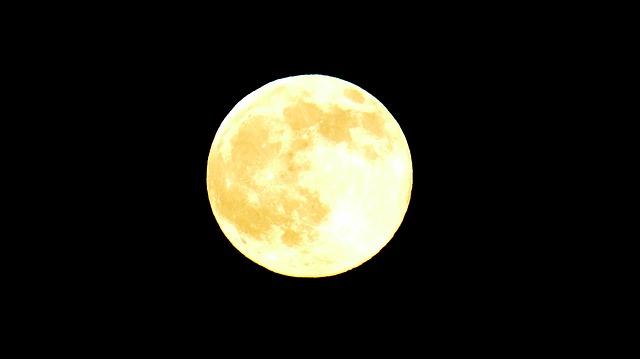 Free moon full moon yellow universe