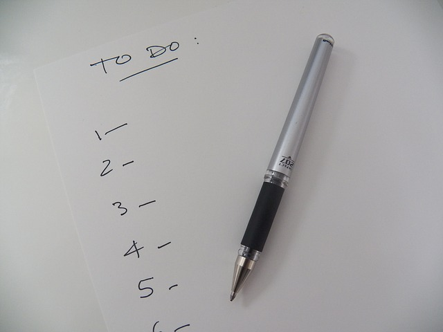 Free list to do list reminder to-do office write pen