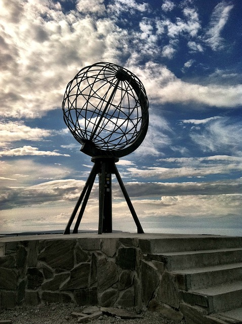 Free north cape norway globe sky