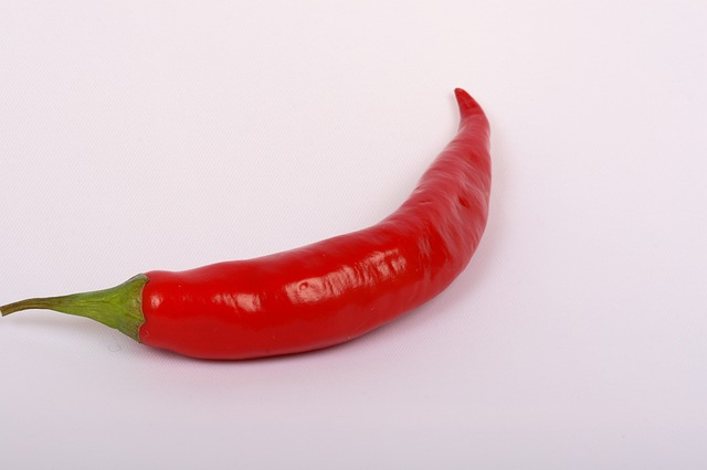 Free vegetable red pepper