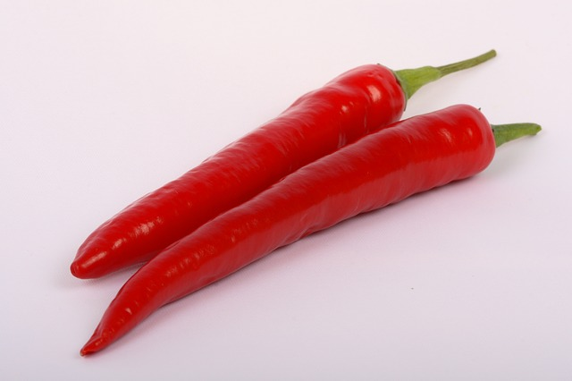 Free vegetable hot red pepper