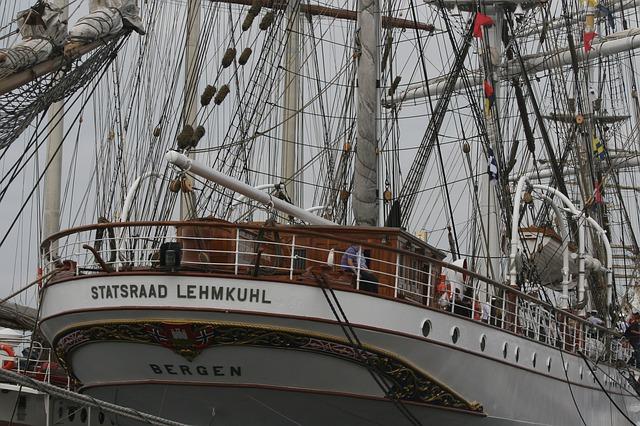 Free sailboat sailing ship sail adventure summer riga