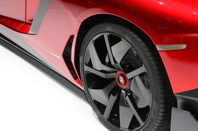 Free Photos: Car auto automobile vehicle wheel red exclusive | Sergey Nemo
