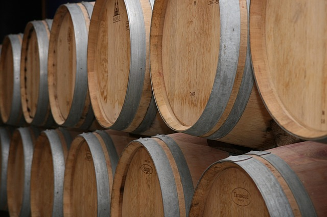 Free winery france bordeaux red wine barrel barrels