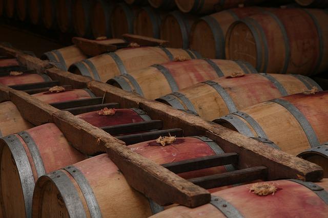 Free red wine winery france bordeaux storage barrel