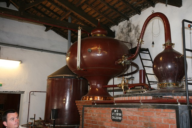 Free brewery cognac equipment production factory france
