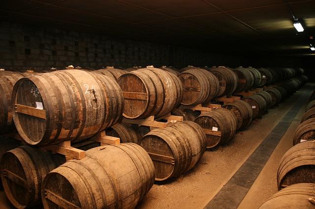 Free storage cognac rare old vintage barrels