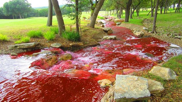 Free river red color blood river darrel darrel stilwell