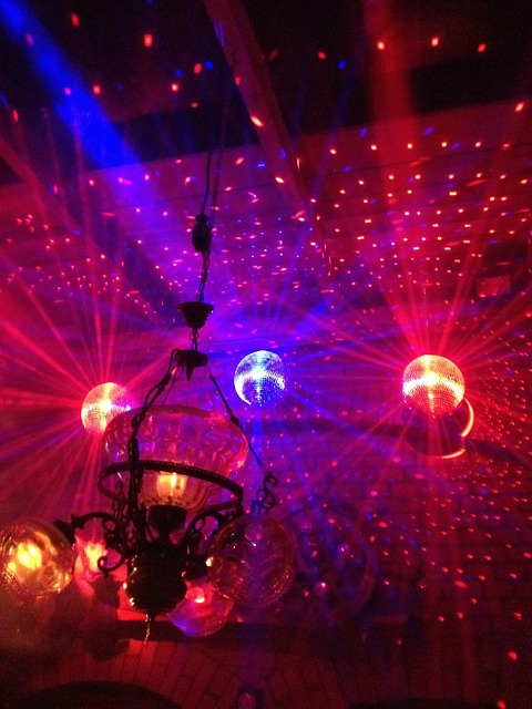 Free dance floor disco ball nightclub club night