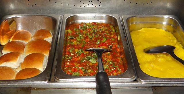 Free pav-bhaji-halva pav-bhaji masala pav halva snack