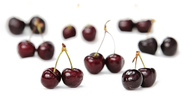 Free cherries fruit red power cherry fruit tree guigné
