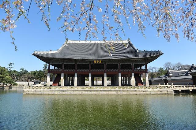 Free republic of korea seoul high altitude traditional