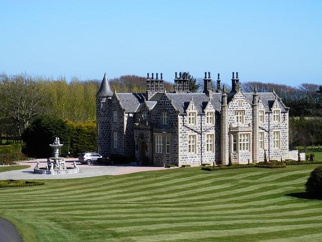 Free house hotel golf scotland