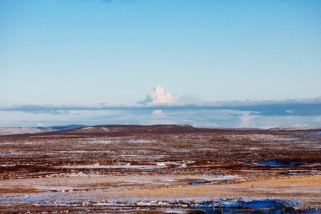 Free volcano desert smoke sand volcanic scenic dry