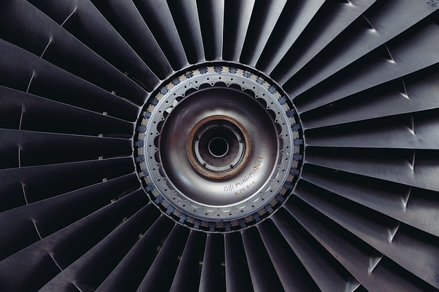 Free Photos:                jet engine turbine jet airplane engine technology | LittleVisuals