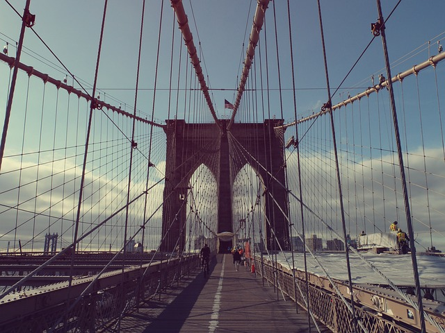 Free brooklyn bridge suspension bridge new york manhattan