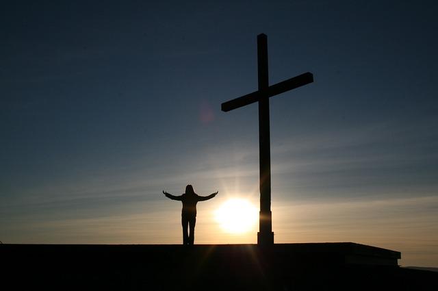 Free Photos:               person clinic cross religion sunset man god heal | Frank Becker