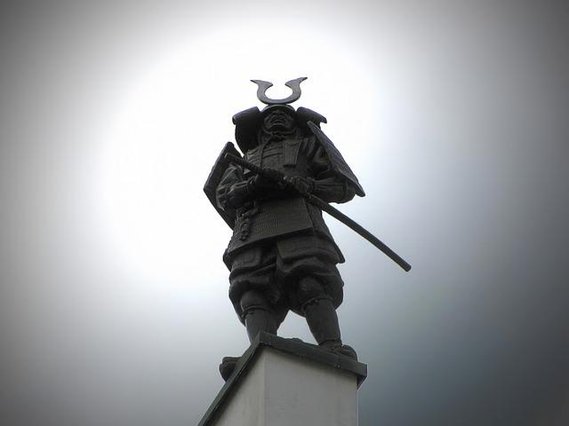 Free statue sculpture warrior brno silhouette cloudy