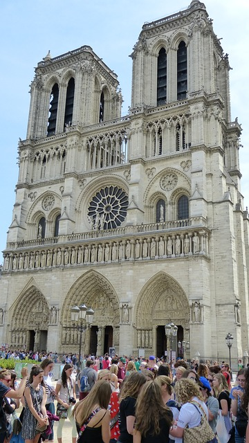 Free paris notre dame church basilica house of worship