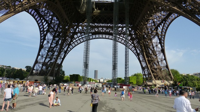 Free paris eiffel tower architecture world's fair