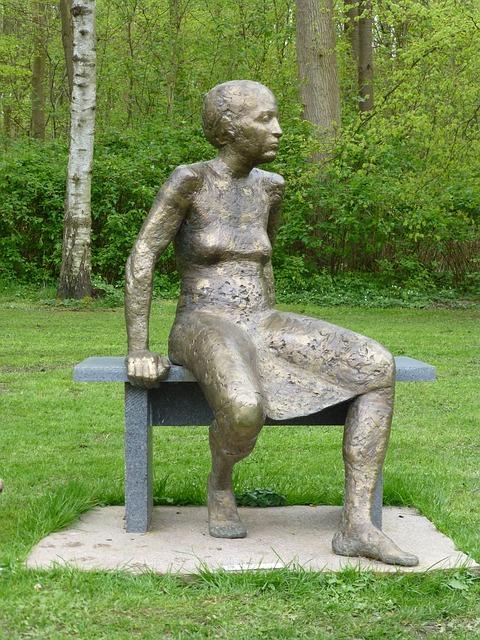 Free art bronze sculpture woman artwork man fig