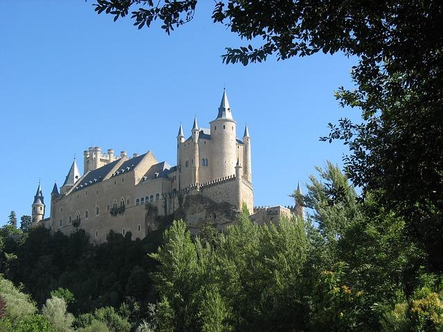 Free castle segovia spain castillo segovia alcazar
