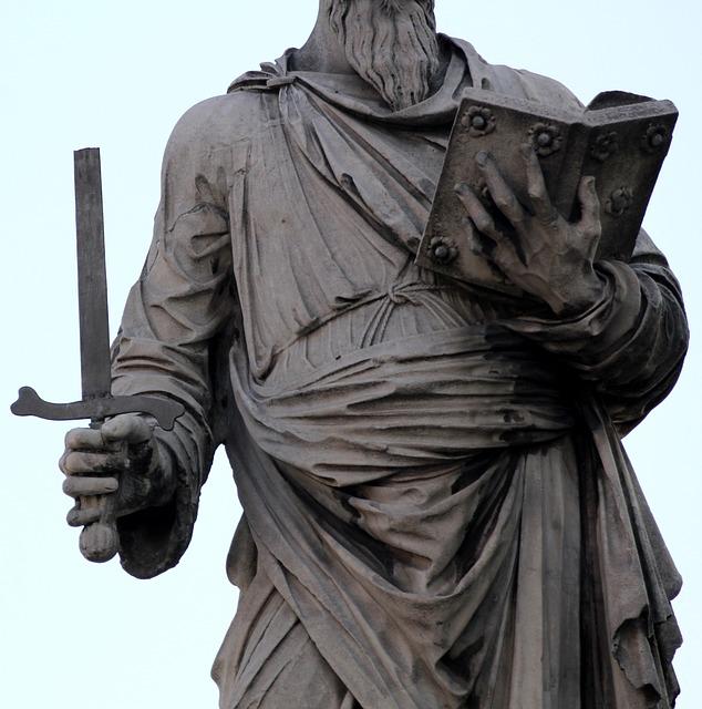 Free sword statue martyr