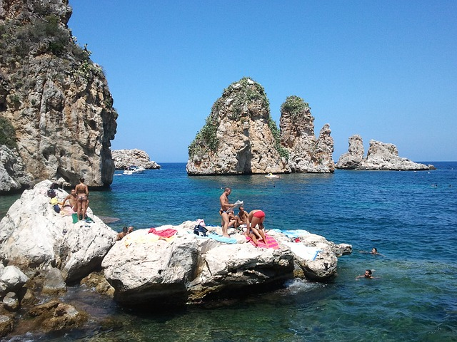 Free sea sicily island