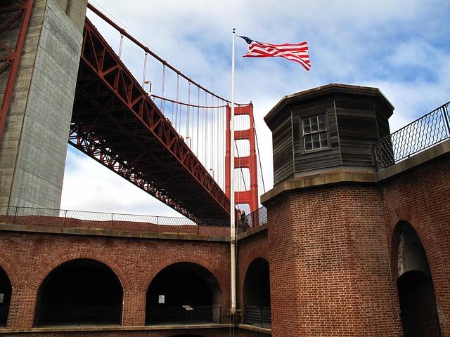 Free fort point san francisco historic landmark bridge